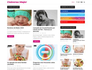 universomujer.com.ar screenshot