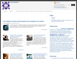 universpresse.agence-presse.net screenshot