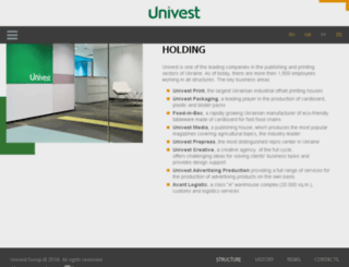 univest.com.ua screenshot