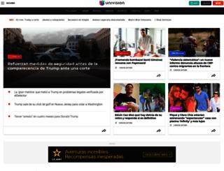 univision.com screenshot