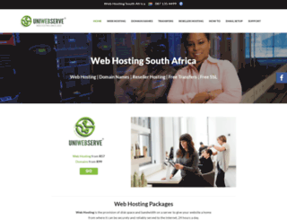 uniwebserve.com screenshot