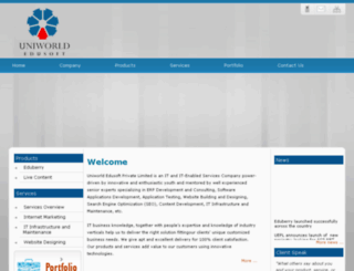 uniworldedusoft.com screenshot