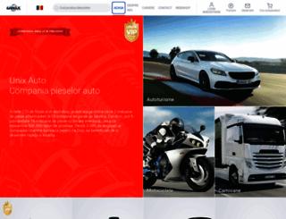 unixauto.ro screenshot