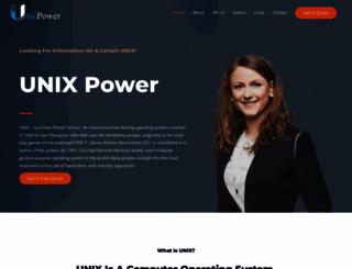 unixpower.org screenshot