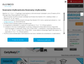 unizeto.eu screenshot