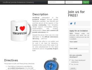 unjed.com screenshot