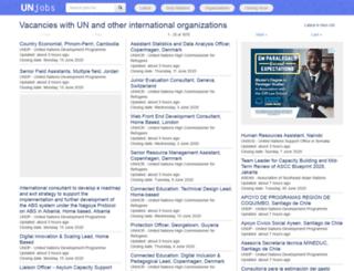 unjobs.org screenshot