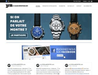 unjourunemontre.com screenshot