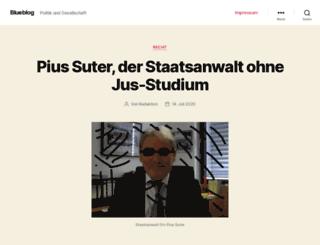 unkultur.blueblog.ch screenshot
