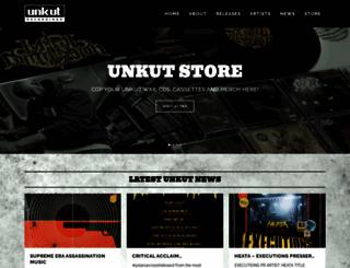 unkutrecordings.com screenshot