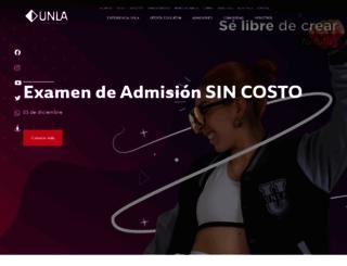 unla.edu.mx screenshot