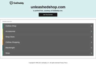 unleashedshop.com screenshot
