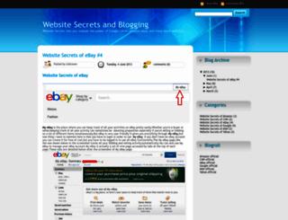 unleashingwebsitesecrets.blogspot.in screenshot