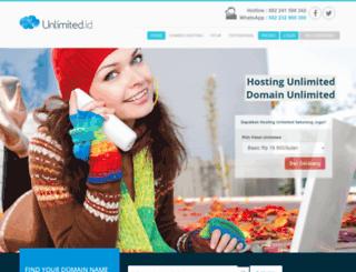 unlimited.id screenshot