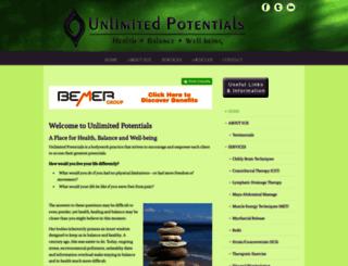 unlimitedpotentials.com screenshot