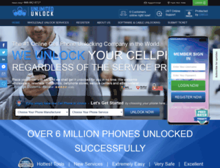 unlimitedunlock.biz screenshot