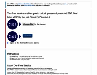 unlock-pdf.com screenshot