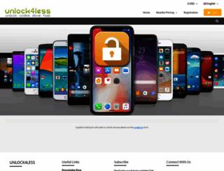 unlock4less.com screenshot