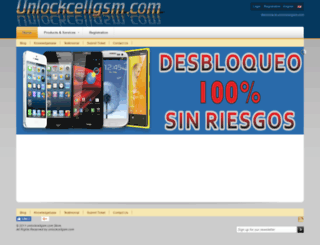 unlockcellgsm.com screenshot