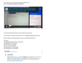 unlockclient.co screenshot