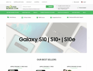 unlocked-mobiles.com screenshot