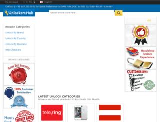 unlockershub.com screenshot