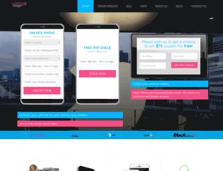 unlockgadget.com screenshot