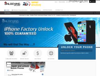 unlockingsrilanka.com screenshot