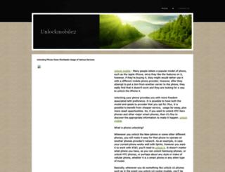 unlockmobile2.yolasite.com screenshot
