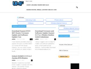 unlockmodemfree.biz screenshot