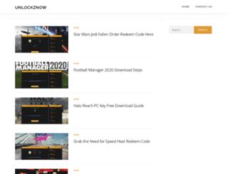 unlockznow.com screenshot