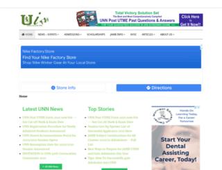 unn-edu.info screenshot