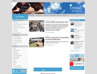 unnoba.edu.ar screenshot