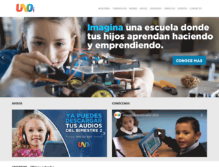 uno-internacional.com screenshot
