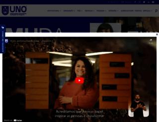 unochapeco.edu.br screenshot