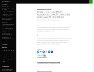 unodelibros.wordpress.com screenshot