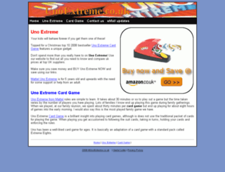 unoextreme.co.uk screenshot