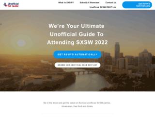 unofficialsxguide.com screenshot