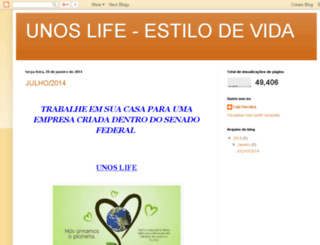 unoslife-ambiental.blogspot.com.br screenshot