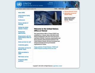 unov.org screenshot