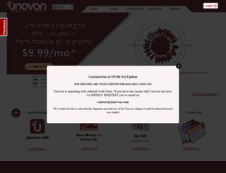 unovon.com screenshot