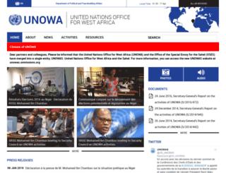 unowa.unmissions.org screenshot