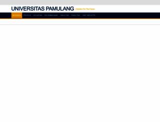 unpam.ac.id screenshot