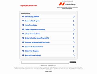 unpardehuevos.com screenshot