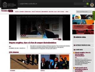 unperiodico.unal.edu.co screenshot