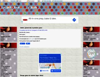 unpetittourdecole.eklablog.com screenshot