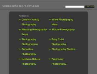unposephotography.com screenshot