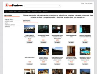 unprecio.es screenshot