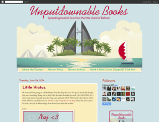 unputdownablebookies.blogspot.com screenshot