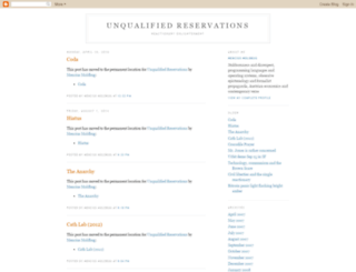 unqualified-reservations.blogspot.com screenshot